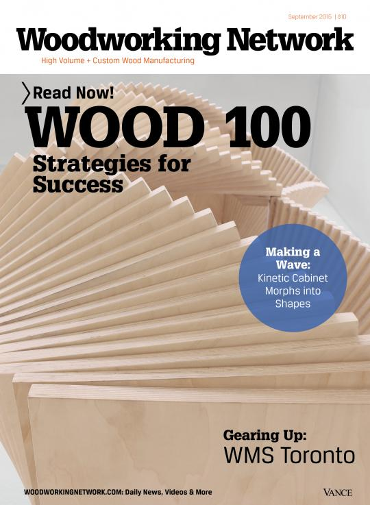 <h1>EDITORIAL FEATURE: GO LEAN AND GROW: WOODWORKERS INTEGRATE WITH TECHNOLOGY: WOOD 100 STRATEGIES FOR SUCCESS by Karen M. Koenig</h1>