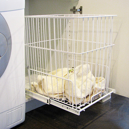 Wire Laundry Hamper