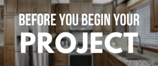 Before you Begin Your Project