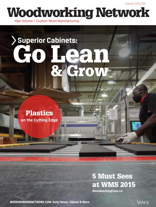 <h1>EDITORIAL FEATURE: GO LEAN AND GROW:  SUPERIOR CABINETS: MANUFACTURING OPERATIONS AS A CLIENT SERVICE by Karen M. Koenig, WOODWORKING NETWORK</h1>