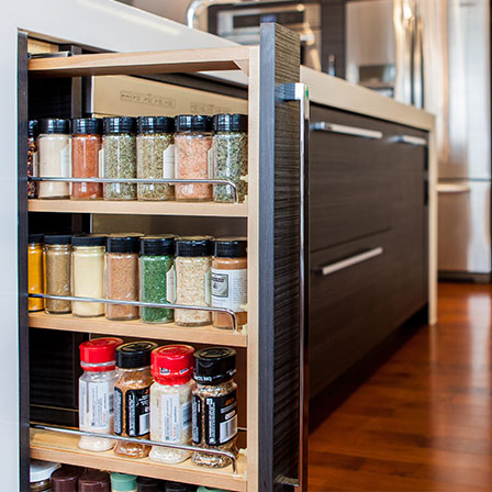 Pull out spice rack base superior cabinets - Base cabinet pull out spice rack ...