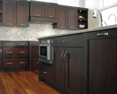 Kitchen built by Superior Cabinets.