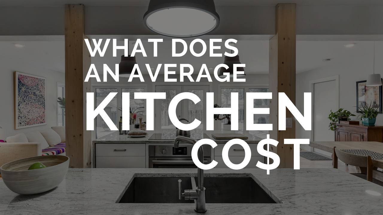 What does an average kitchen cost?