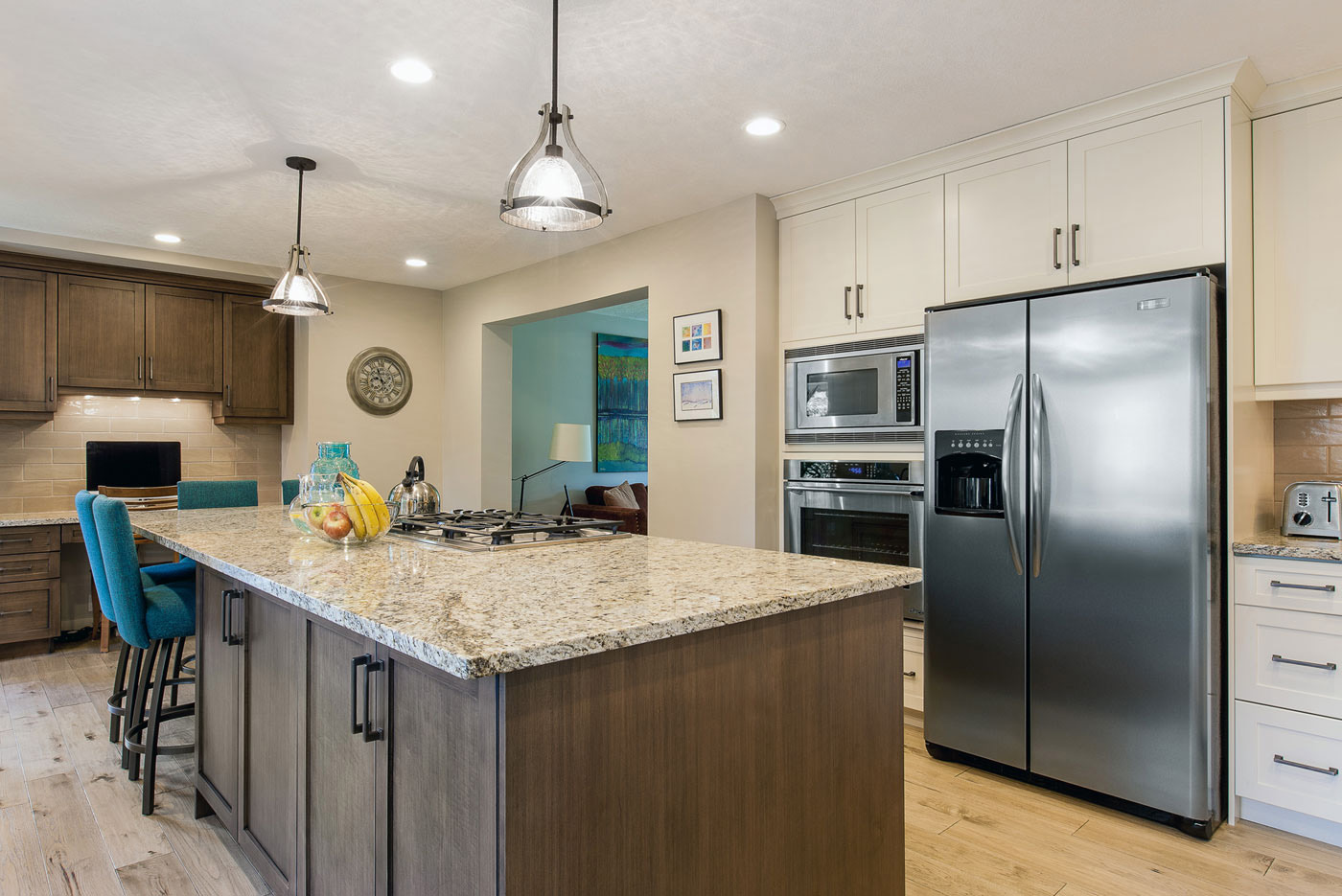Kitchen designed and built by Superior Cabinets.