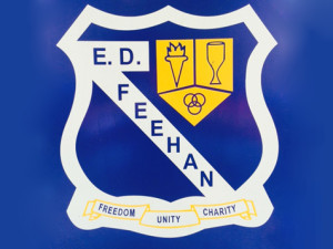 ED Feehan High School logo crest.