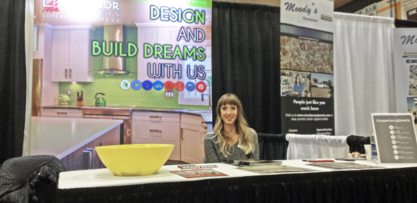 Superior Cabinets Attends the Lakeland College Career Fair