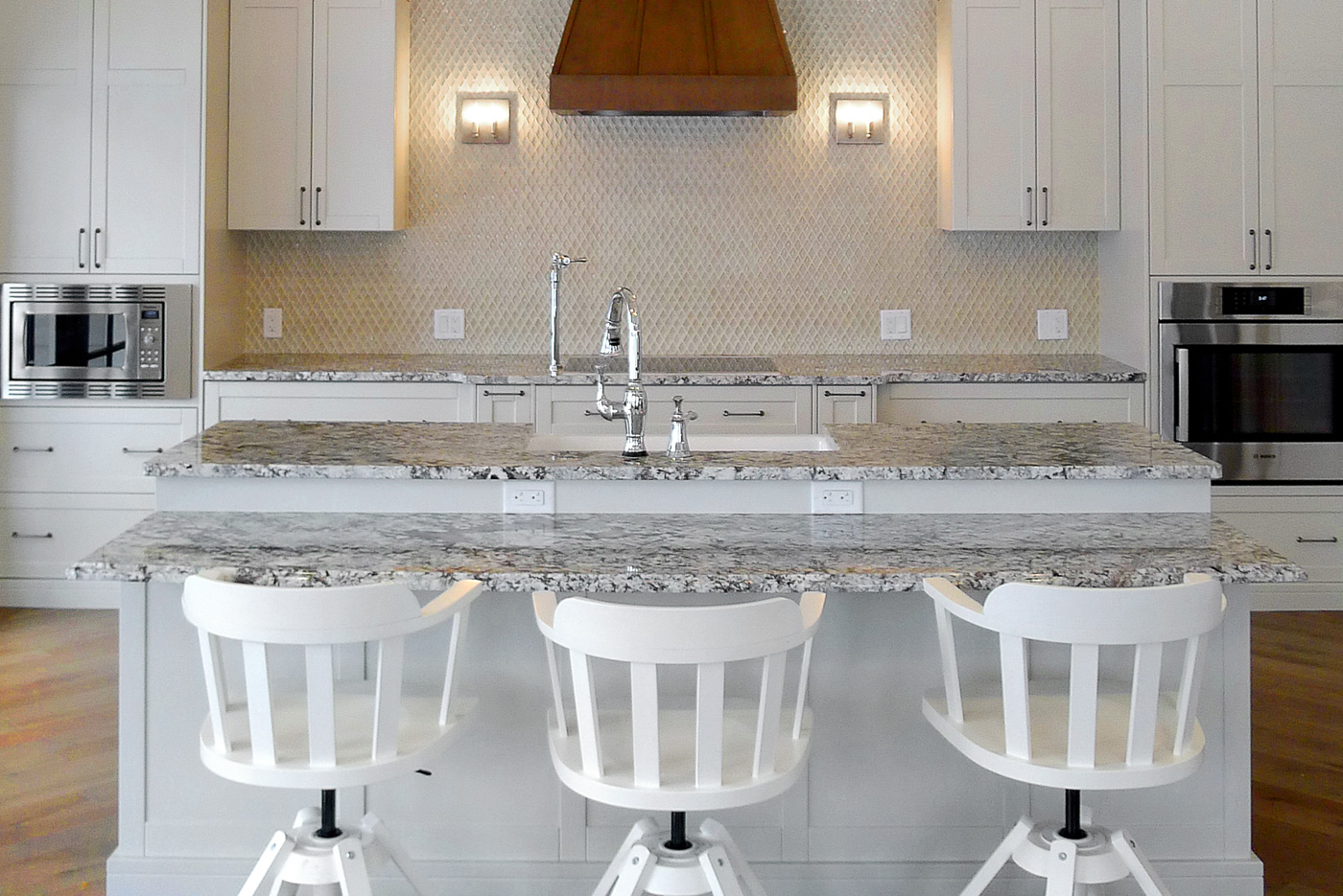 Accessible kitchen by Superior Cabinets and Westridge Homes.