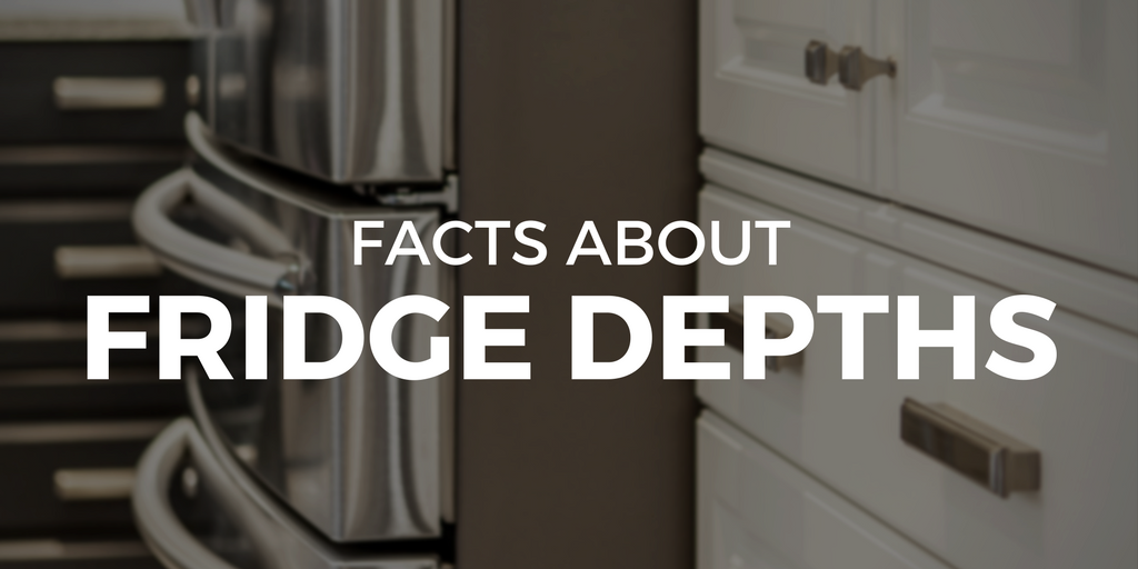Facts About Fridge Depths | Superior Cabinets Blog