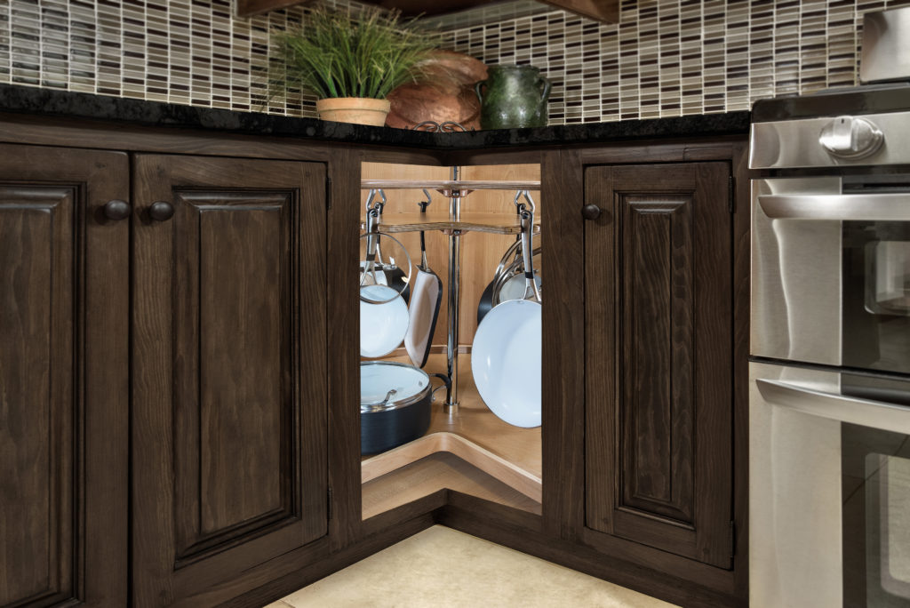 5 lazy susan alternatives superior cabinets. Black Bedroom Furniture Sets. Home Design Ideas