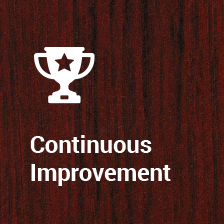 <h1>Continuous Improvement</h1>