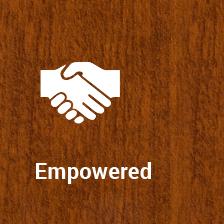 <h1>Empowered</h1>