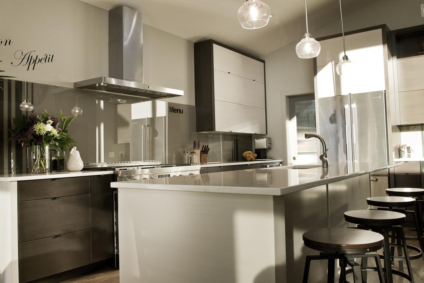 Dark Range Kitchen cabinets by Superior Cabinets