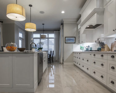 Light Bateau Kitchen cabinets by Superior Cabinets