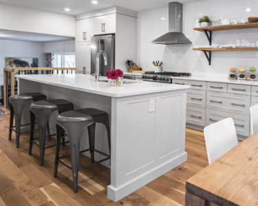 Light Sawyer Kitchen cabinets by Superior Cabinets