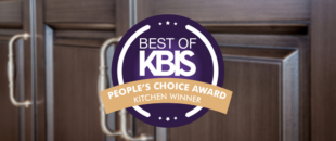 Superior Cabinets Winner of BEST OF KBIS – People's Choice Award