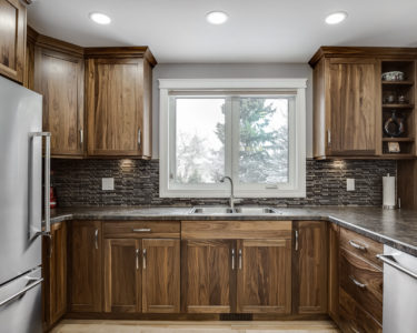 Medium Terra Kitchen cabinets by Superior Cabinets
