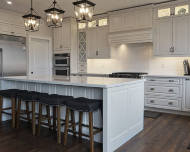 Light Laurent Kitchen cabinets by Superior Cabinets