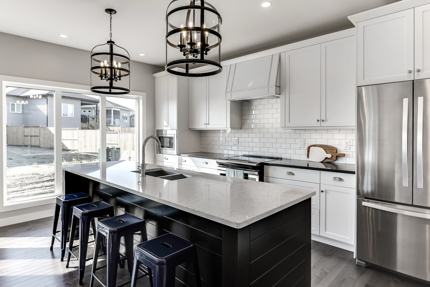 Light Alumen Kitchen cabinets by Superior Cabinets