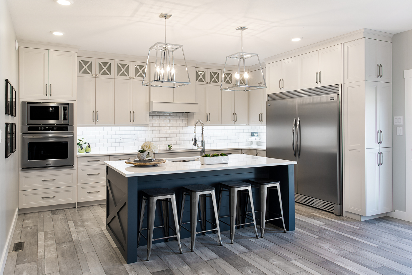 Light Carver Kitchen cabinets by Superior Cabinets