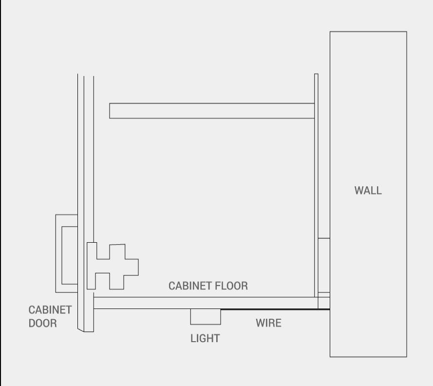 under cabinet lighting concealment options superior cabinets. Black Bedroom Furniture Sets. Home Design Ideas
