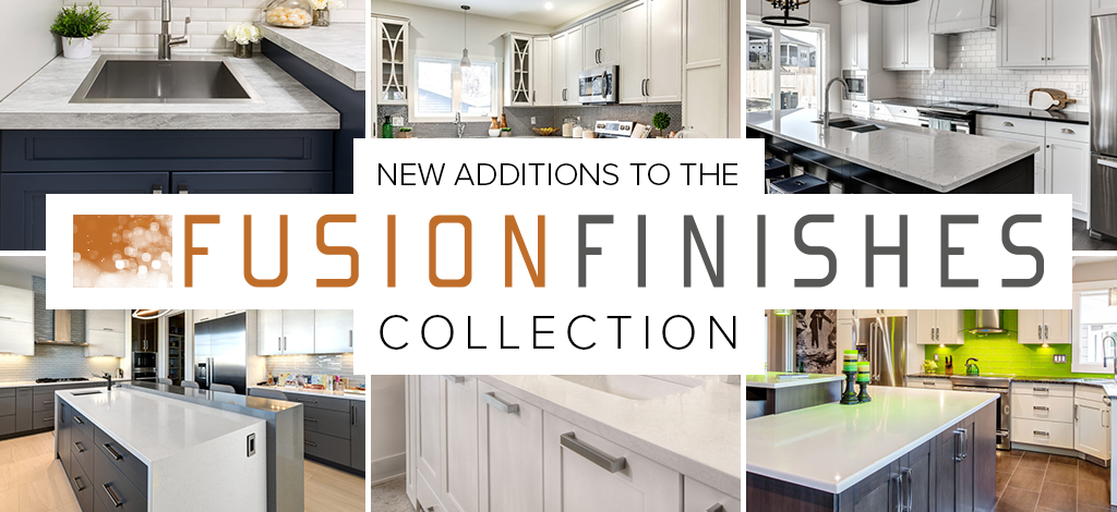 New Painted MDF Fusion Finishes