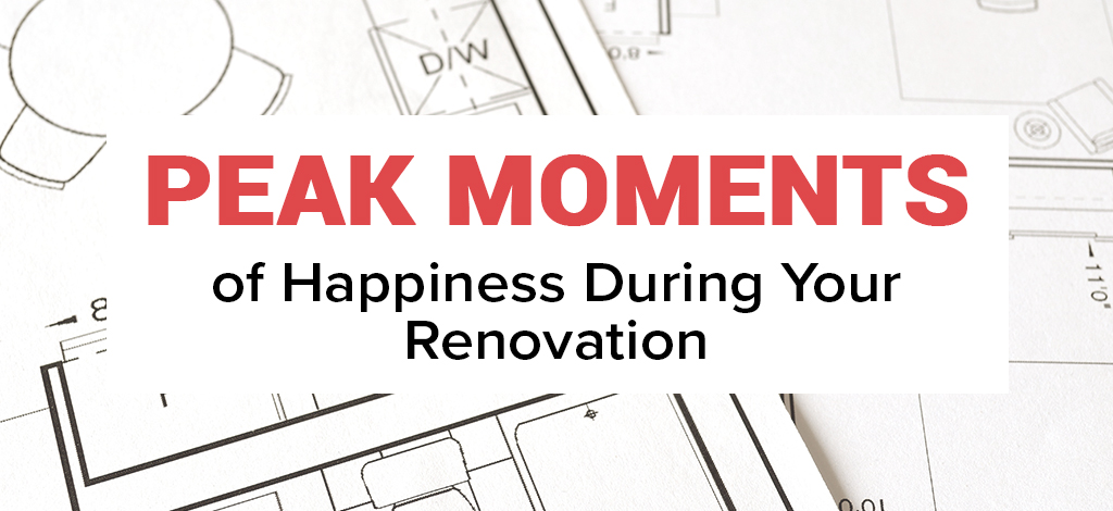 Peak Moments of Happiness During Your Renovation