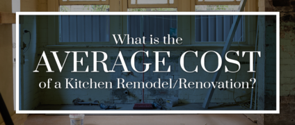 What is the average cost of a kitchen remodel/renovation?