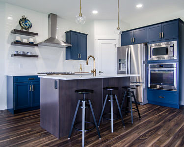 Cerulean Project Cabinets