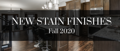 New Stain Finishes – Fall 2020