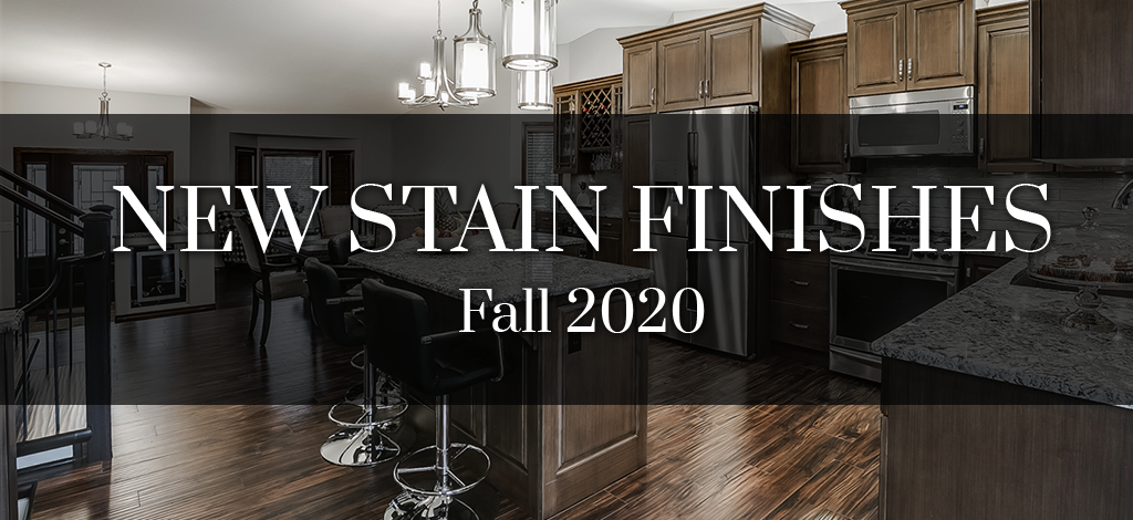 New Wood Stain Finishes by Superior Cabinets.