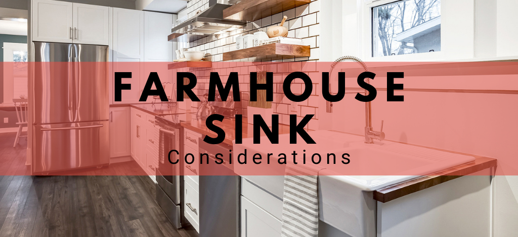 Farmhouse sink and apron sink considerations blog by Superior Cabinets Saskatoon, Regina, Calgary, Edmonton and Winnipeg.