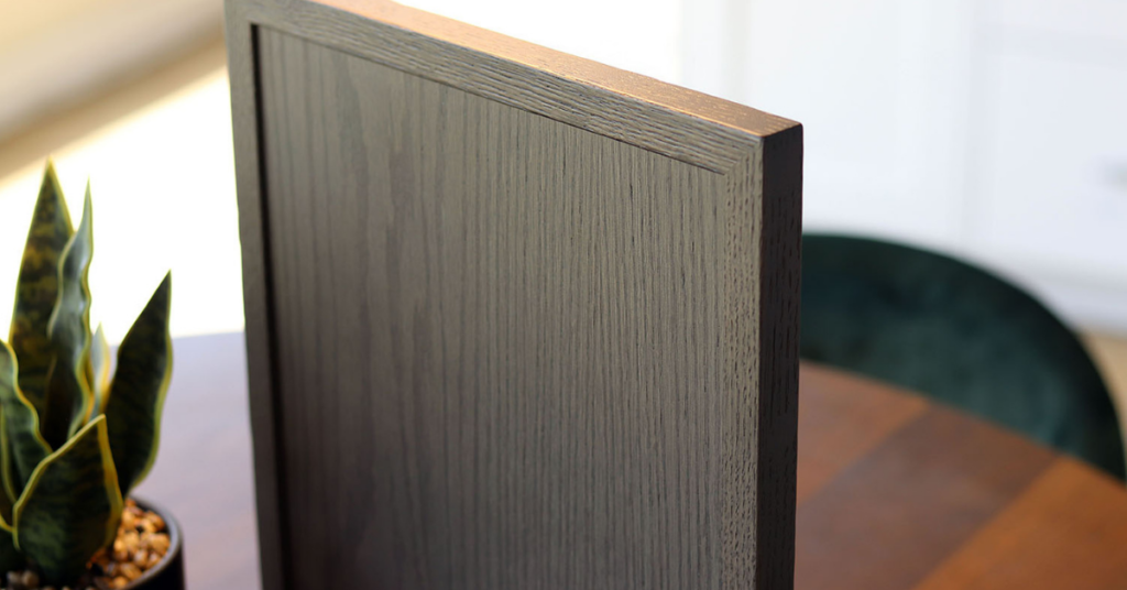 A slim shaker, skinny shaker cabinet door by Superior Cabinets Canada and USA.