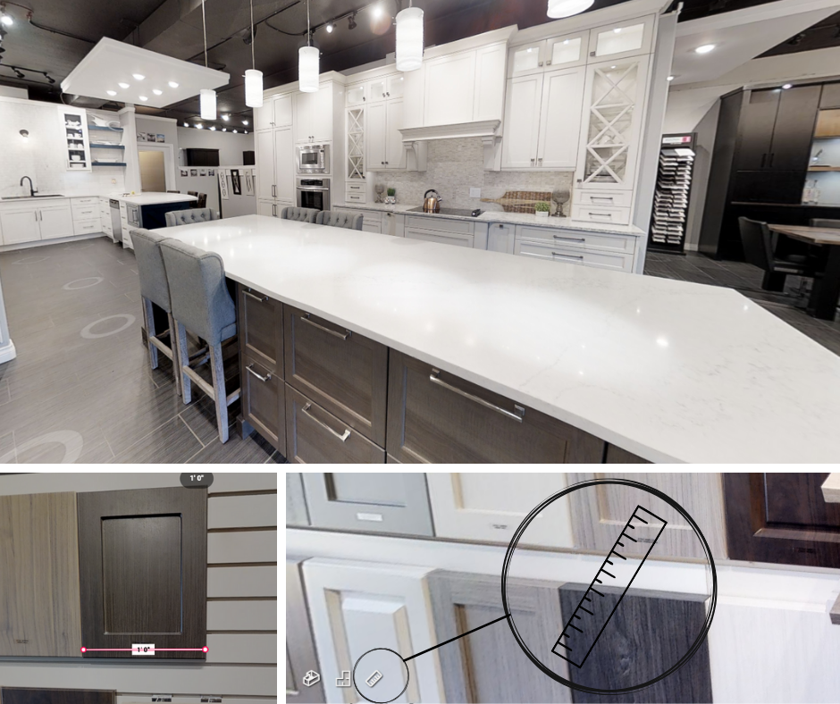 Blog – Virtual Showroom Measure Tool. View and measure top trending kitchen and bath displays by Superior Cabinets, from the comfort of your home. Author- Shahan Fancy.